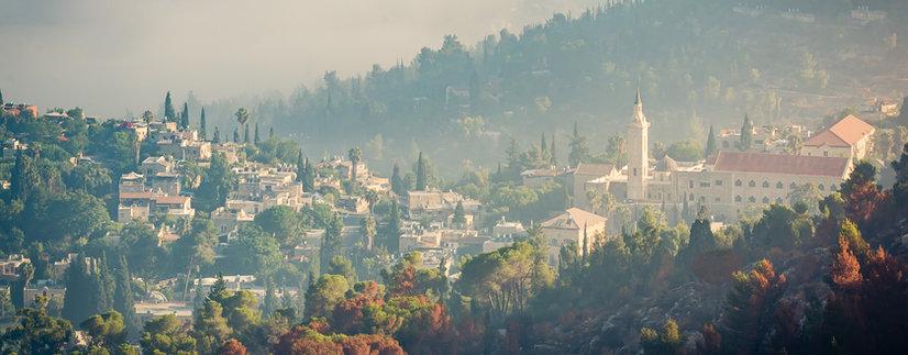 Landscape in Ein Kerem, Jerusalem