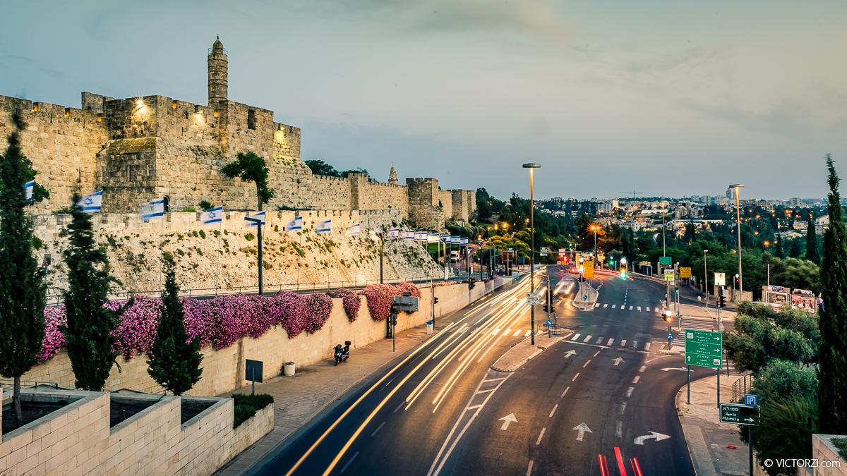 סדנת צילום מריחת תנועה בירושלים