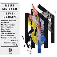 CD covere, Gilad Hochman, NEUE MEISTER, Deutsches Kammercorchester Berlin