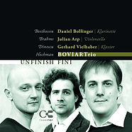 CD cover, Gilad Hochman, UNFINISH FINI, BOVIAR Trio