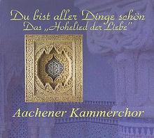 CD cover, Glad Hochman, Du bist aller Dinge schön, AachenerKammerchor