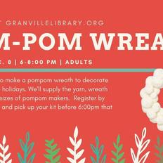 Pom Pom Wreath - GPL
