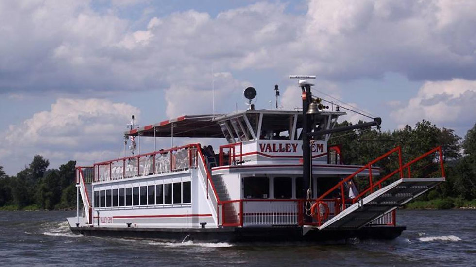 Private Tour on The Valley Gem Stern-Wheeler & Lunch at Lafayette Hotel