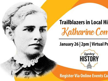 Katherine Coman: Local Trailblazer