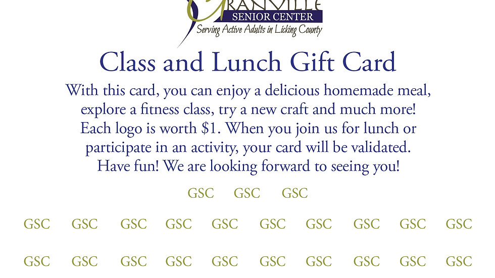 GSC Gift Card