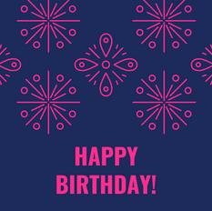 Zoom Birthday Celebration