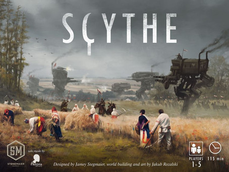 Game review: Scythe (2016)