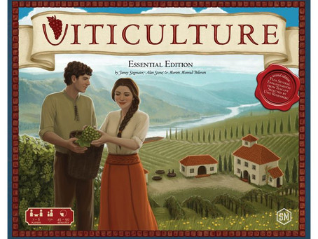 Game review: Viticulture Essential Edition (2015)