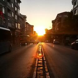 Sunset in Acıbadem