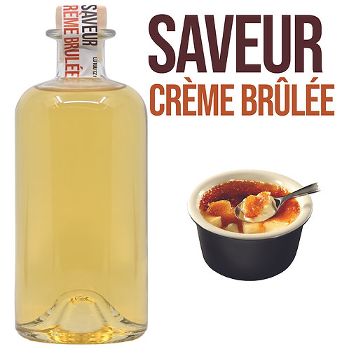 Bouteille de Shooter Saveur Crème Brûlée