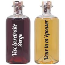 vodka arrangée personnalisée