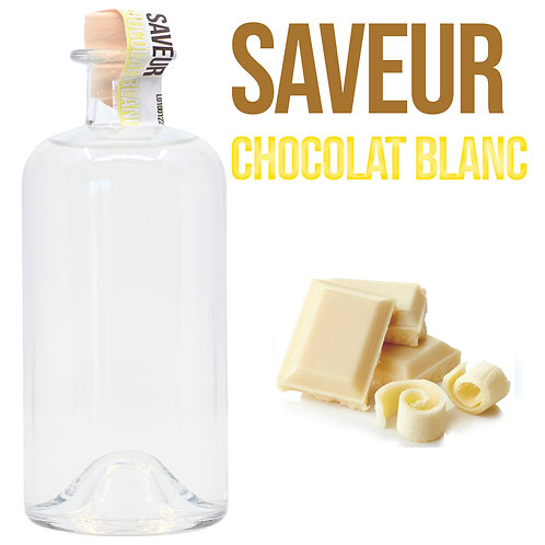 Bouteille de Shooter Saveur Chocolat Blanc