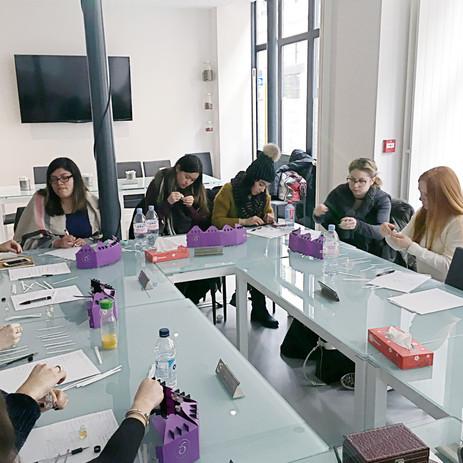 Des classes transplantées chez notre partenaire Cinquième Sens au 18 rue de Montessuy Paris 07