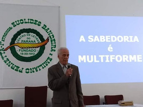 "PALESTRA ""A SABEDORIA É MULTIFORME"""