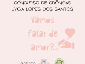ABERTO CONCURSO DE CRÔNICAS LYGIA LOPES DOS SANTOS