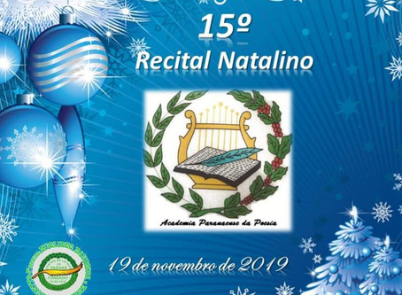 RECITAL NATALINO NO CENTRO DE LETRAS DO PARANÁ
