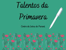 TALENTOS DA PRIMAVERA