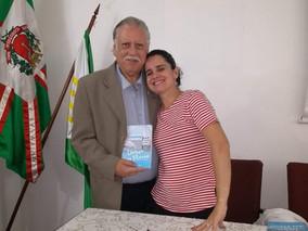 LANÇAMENTO DE LIVRO NA TERÇA CULTURAL DO CENTRO DE LETRAS