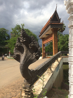 River Bridge - Siem Reap, Cambodia
