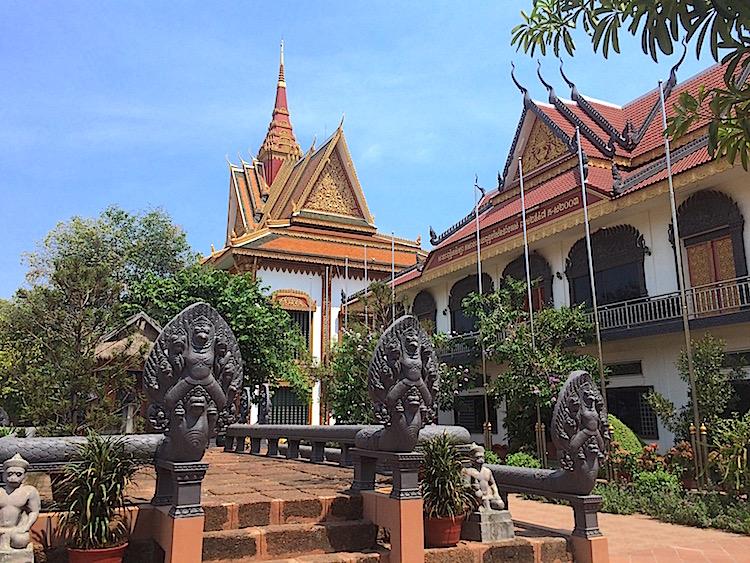 Buddhist Temple, Siem Reap, Cambodia