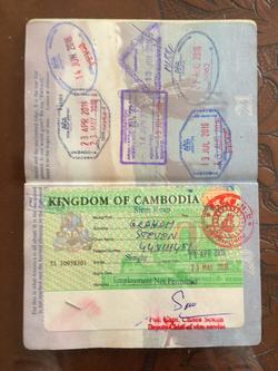Passport-Cambodia Visa
