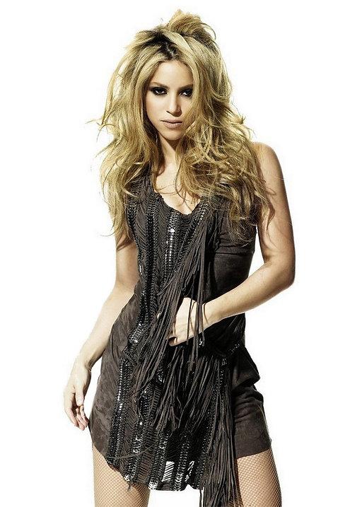 Shakira - recording studio client at Flux Studios in NYC