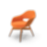 Orange Suede Chair.H15.2k-min.png