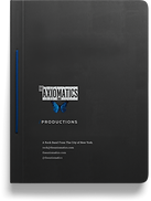 the Axiomatics Music Production binder