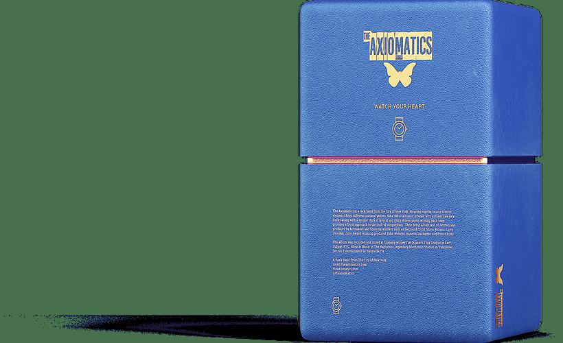 blue gift box the axiomatcs