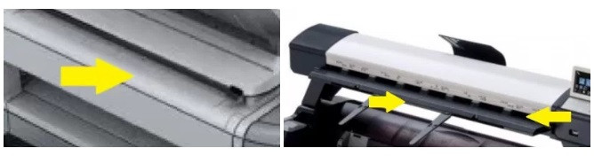 Narrow scan paths make it difficult to scan large format documents