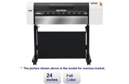 """Mutoh RJ 901x 24"""" Large Format Plotter"""