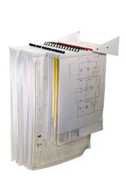 Plan Filling Wall Rack