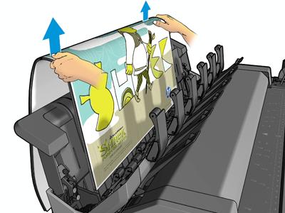 HP Large Format Plotter