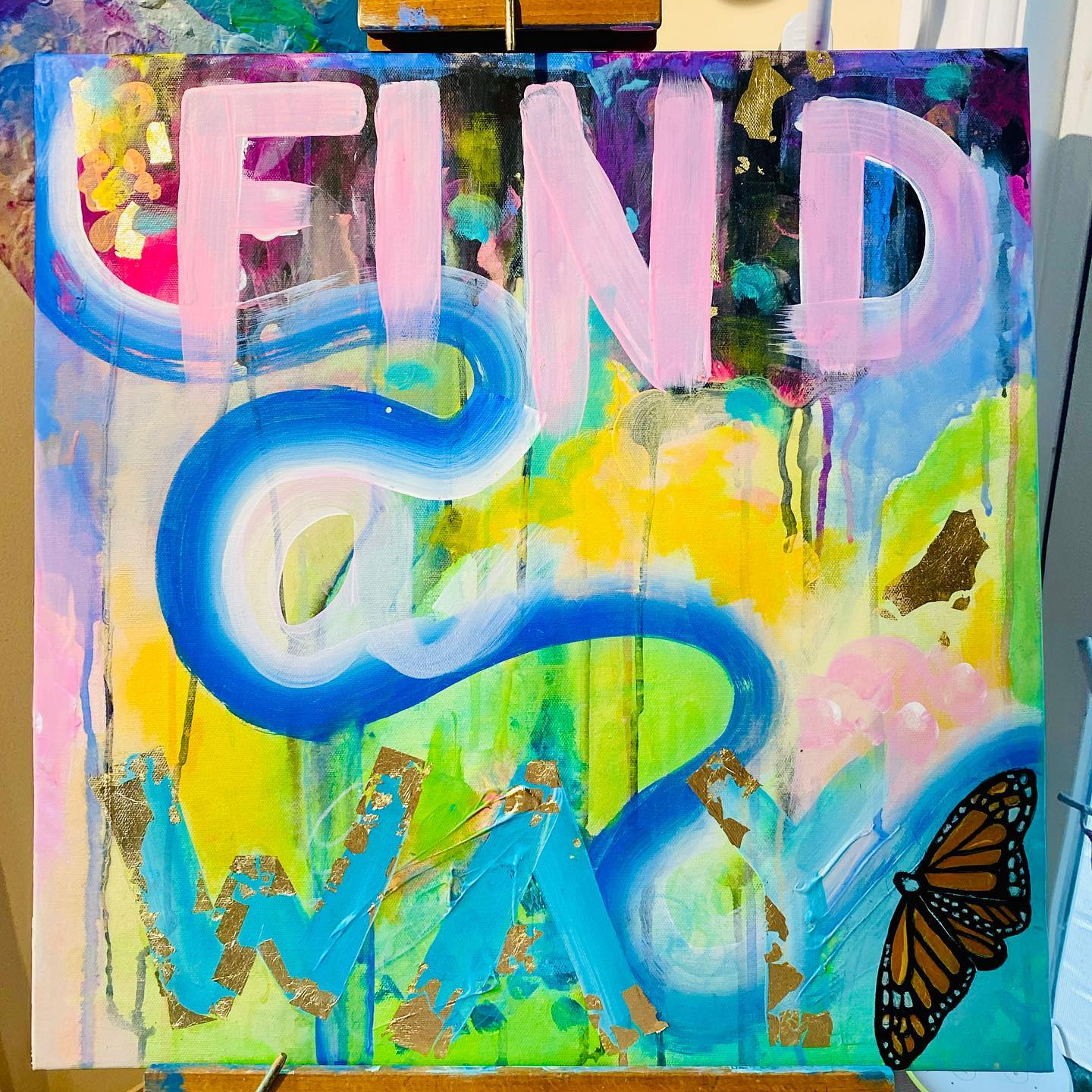Find A Way Painting