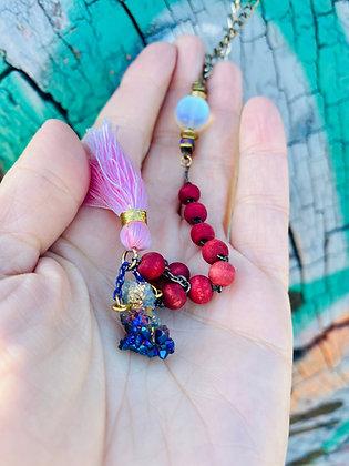 Fuego Rosa Necklace