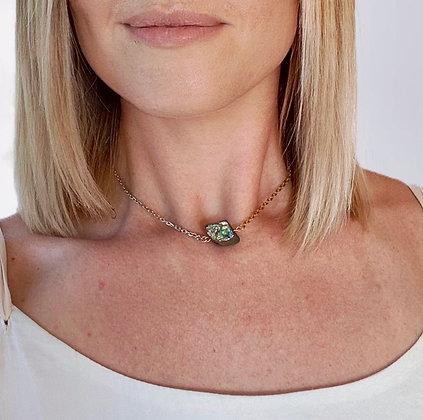 Trozo de Cuarzo Necklace