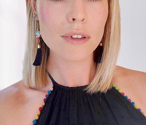 Llamarada Negra Earrings