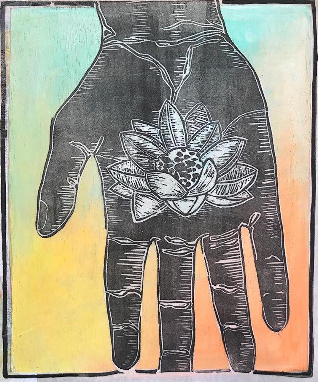 Lotus Hand