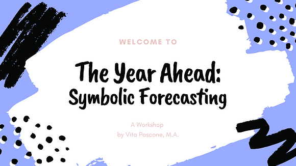 The Year Ahead: Symbolic Forecasting
