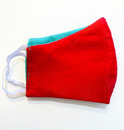 Silken Sari Mask