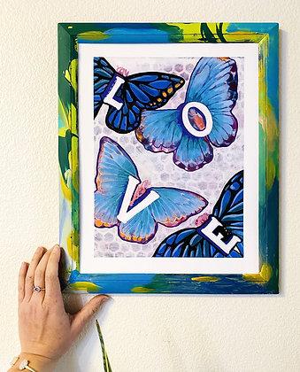 Butterfly Love 11x14