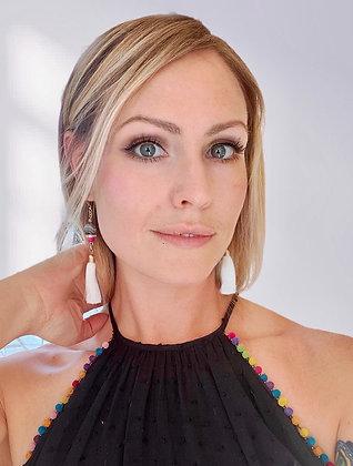 Llamarada Blanca Earrings