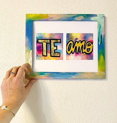 Te Amo 8x10