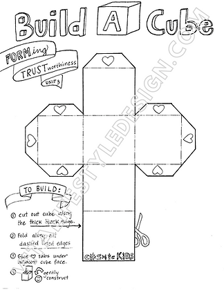 Build A Cube Template