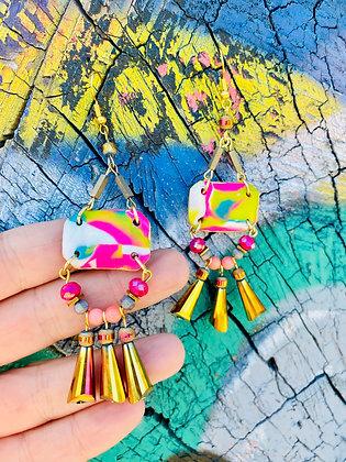 Reina de Colores Earrings