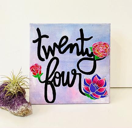 "6x6"" Custom Mini Painting"