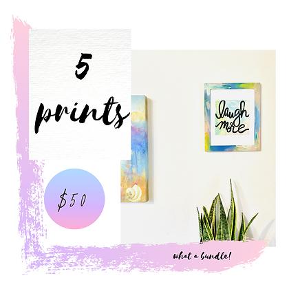 5 Print Bundle