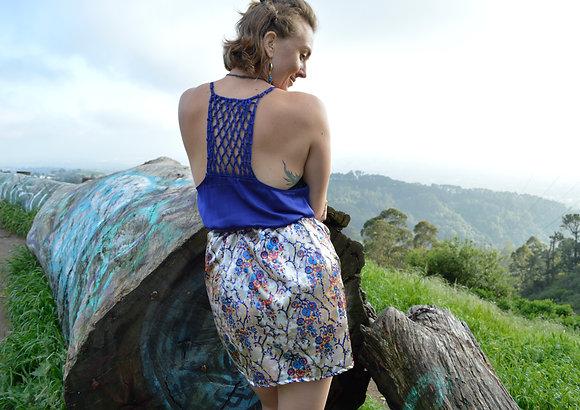 Silk Standard Pocketed Cocktail Dress