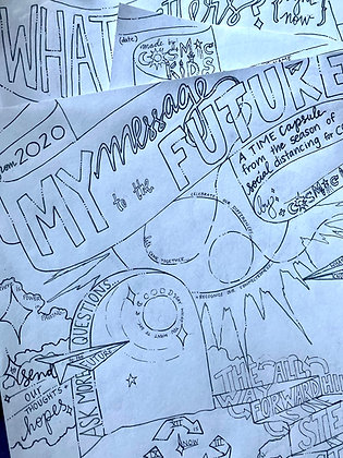 Expressive Arts Time Capsule: My Message to the Future