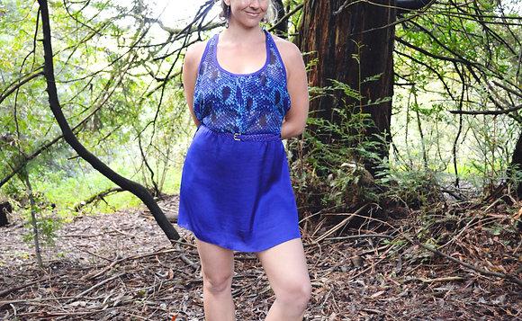 Blue Hiss Dress